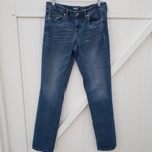 Mossimo Mid-rise straight jeans, size 10L
